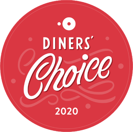 OpenTable Diners' Choice Award winner 2020