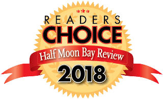 Half Moon Bay Review Readers' Choice Award winner 2018 - voted best seafood restaurant by Half Moon Bay locals