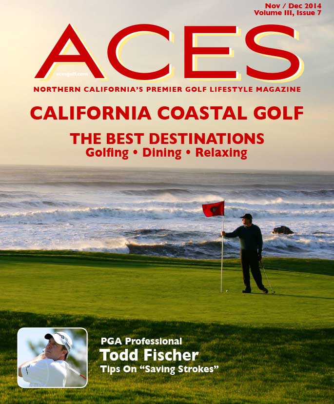 ACES Golf Lifestyle magazine raves about Sam's Chowder House in their coastal golf edition