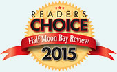 Half Moon Bay Review Readers' Choice Award winner 2015 - best seafood restaurant by Half Moon Bay locals