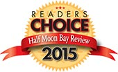 Half Moon Bay Review Readers Choice Award 2015 Winner for Best Seafood Restaurant in Half Moon Bay
