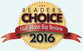 Half Moon Bay Review Readers' Choice Award winner 2016 - best seafood restaurant by Half Moon Bay locals