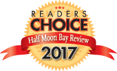 Half Moon Bay Review Readers Choice Award 2017 Winner for Best Seafood Restaurant in Half Moon Bay