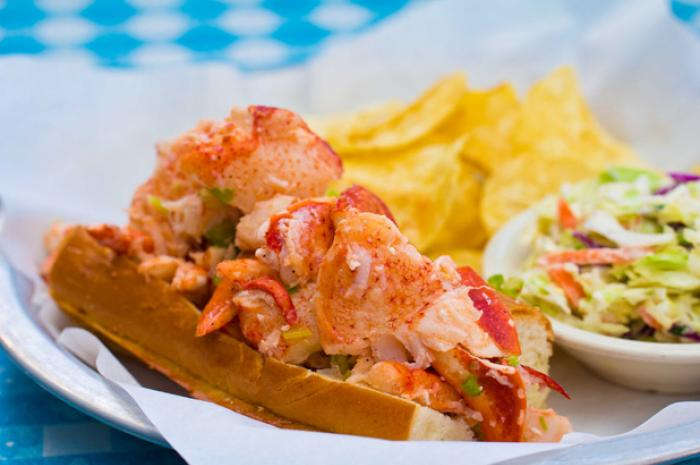 The Daily Meal names Sam's in America's 20 Best Lobster Rolls Outside Maine