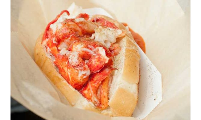 Sam's Chowder House lobster roll is best lobster roll outside Maine