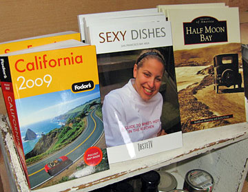 Fodor's California, Sexy Dishes, Half Moon Bay books