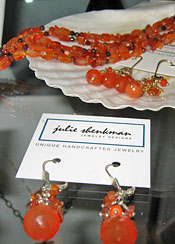 Julie Shenkman Jewelry Designs closeup