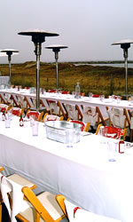 Private Dining at Sam's Chowder House Beachfront Lawn