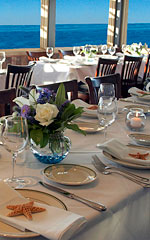 wedding event spaces - harbor view room