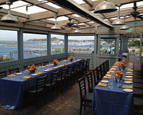 Private Dining at Sam's Chowder House Ocean Terrace