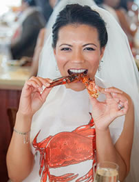 Weddings at Sam's Chowder House