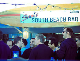Wedding at Sam's Chowder House South Beach Bar