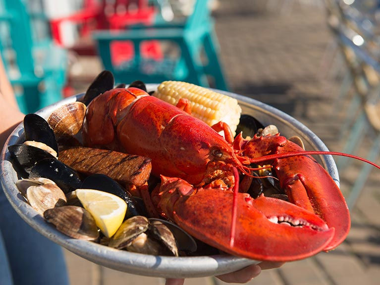 lobster clambake plate